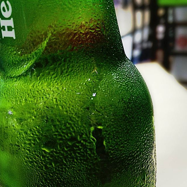Amazing add-on to September in #Israel. A cold #heineken #beer. And a long weekend is ahead.