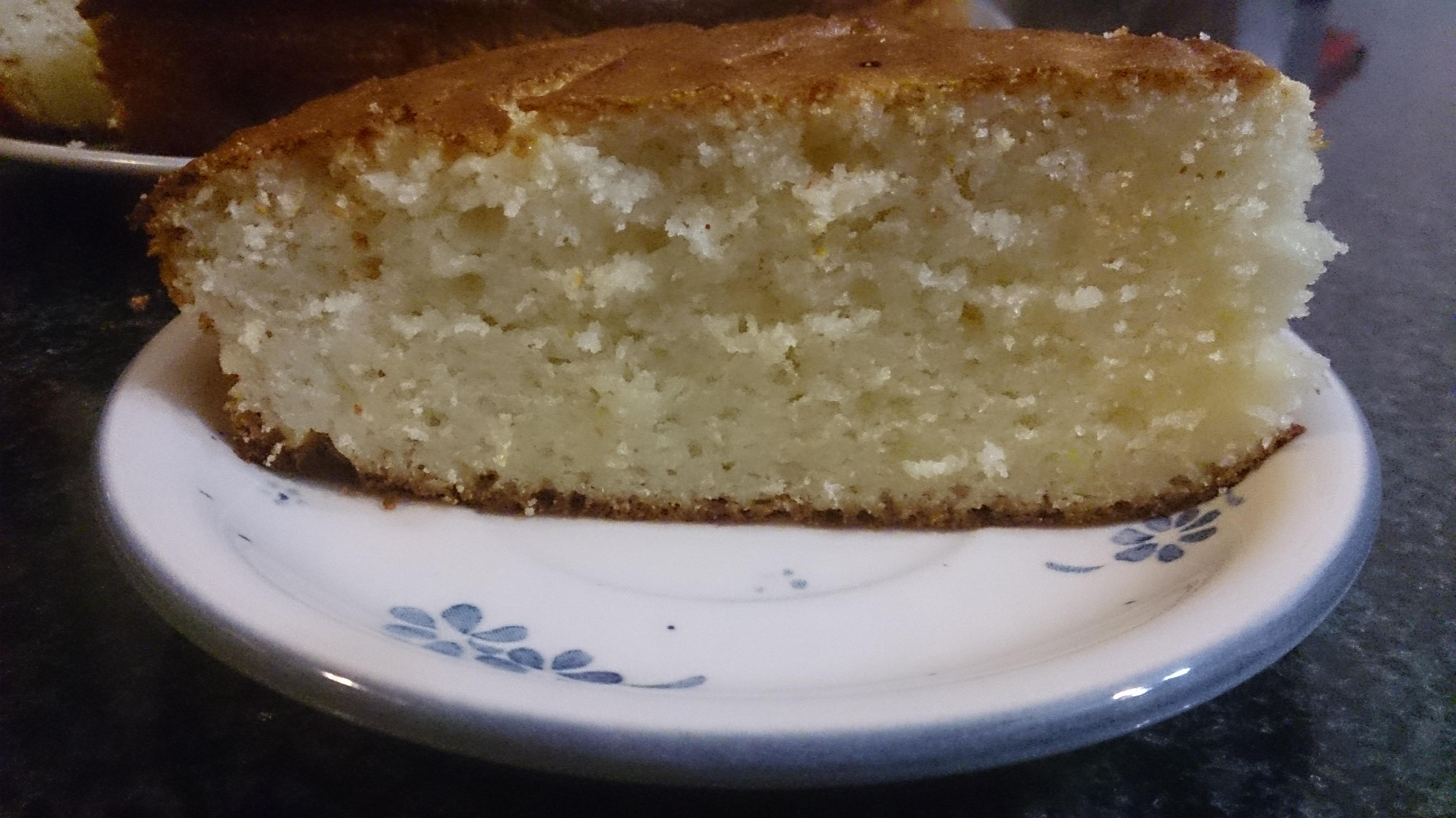 Творожно-лимонный кекс 3